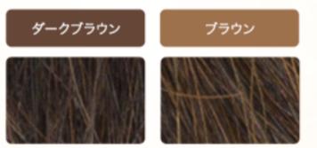 マイナチュレ 白髪染めの色