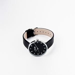 KLON ALPHABET TIME -SILVER MESH- 【BLACK SURFACE】 40mm