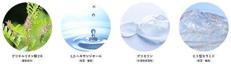 カダソン セラミド化粧水の成分