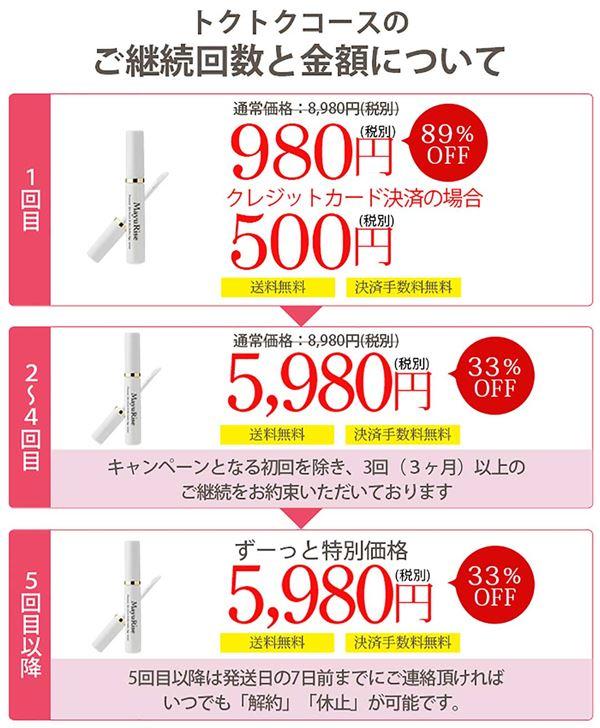 マユライズの価格